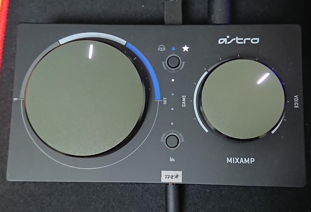 MixAmp本体設定
