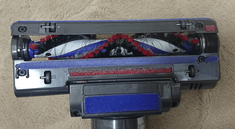 旧掃除機ブラシ