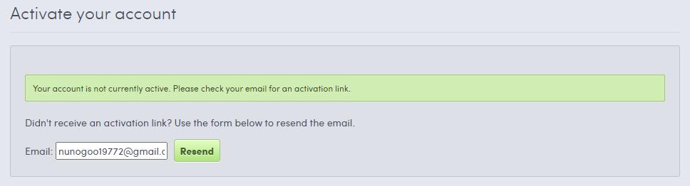 メール確認してねの画面