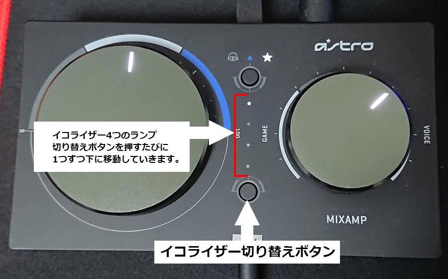 イコライザー切り替えボタン