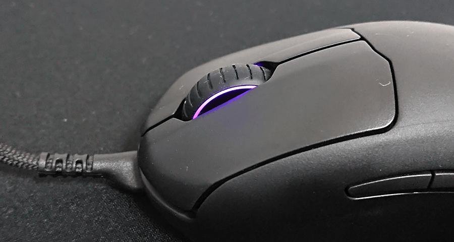 PrimeのLEDが紫色に光る