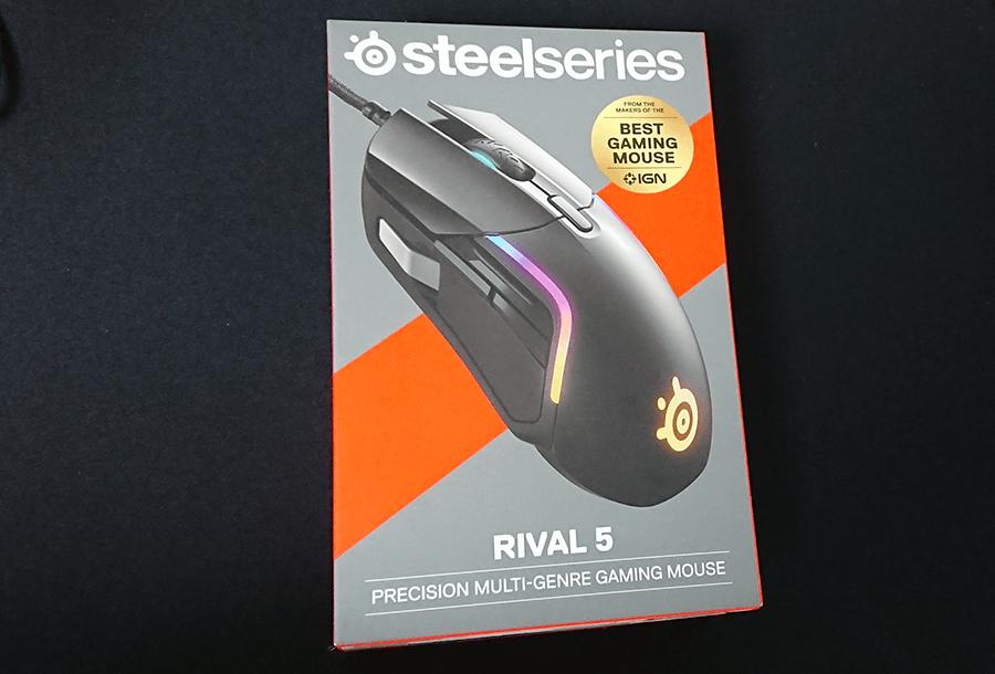 Rival5のパッケージ
