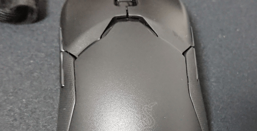 Viper Ultimate 左右ボタンの飛び出し量