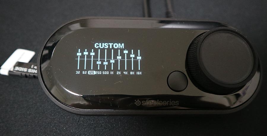 GameDAC イコライザー