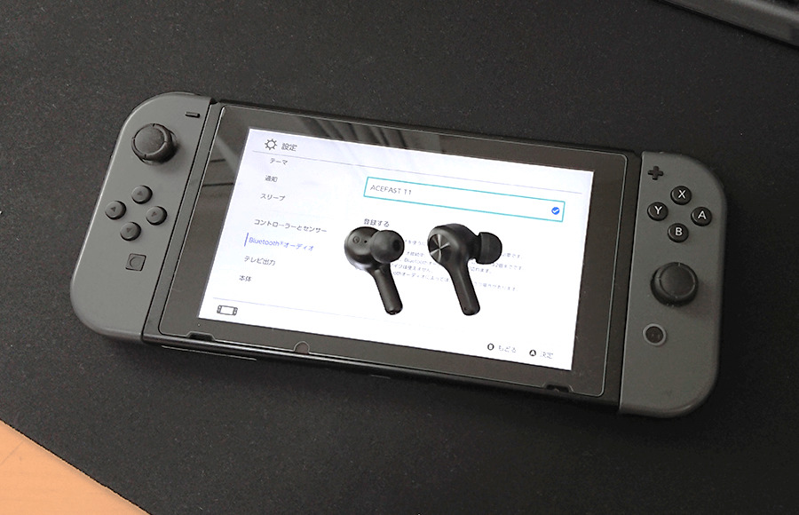 ACEFAST T1 Switchで使えます