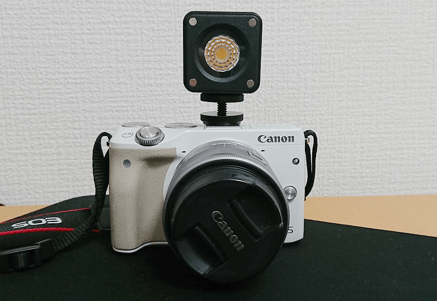 カメラに取り付け